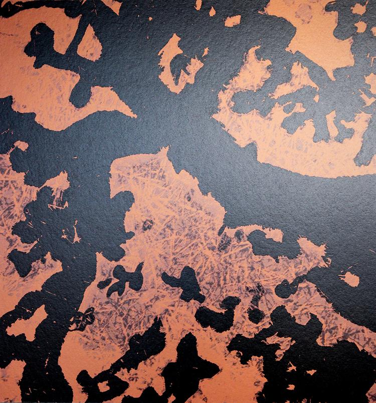 'Frestelse II', 2017, ett konstverk av Janne Tham