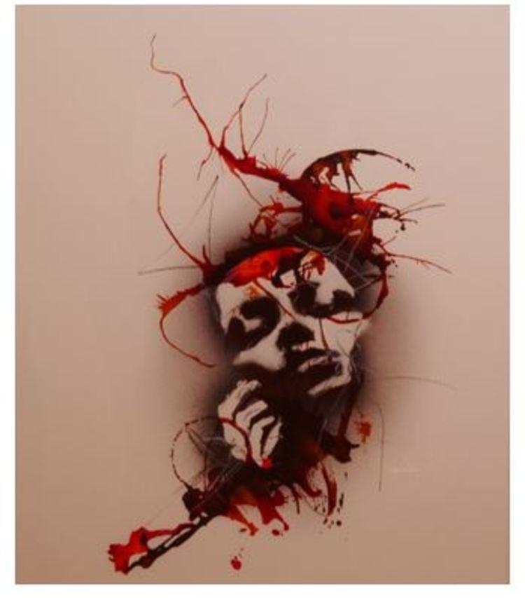 'Utan titel', ett konstverk av Sackarias Luhanko