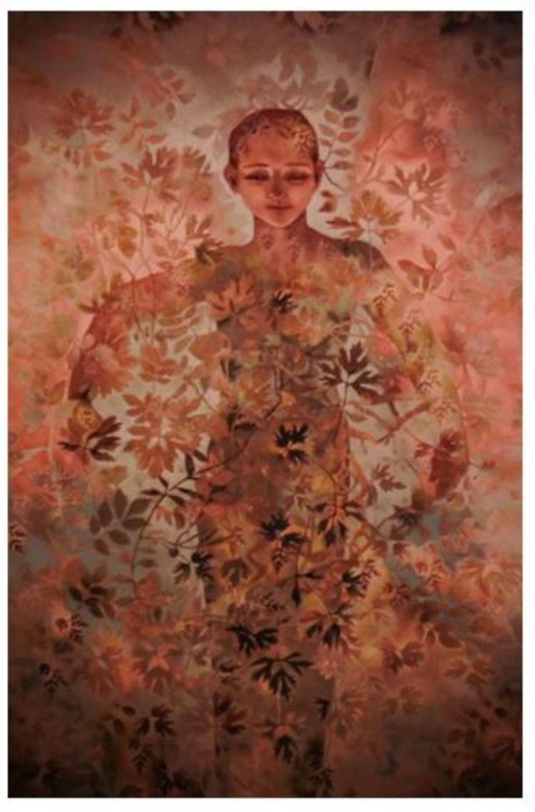 'Silent Carisma', ett konstverk av Kikki Hovland