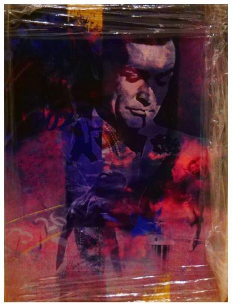 'Sean Connery', ett konstverk av Åke Ahlberg