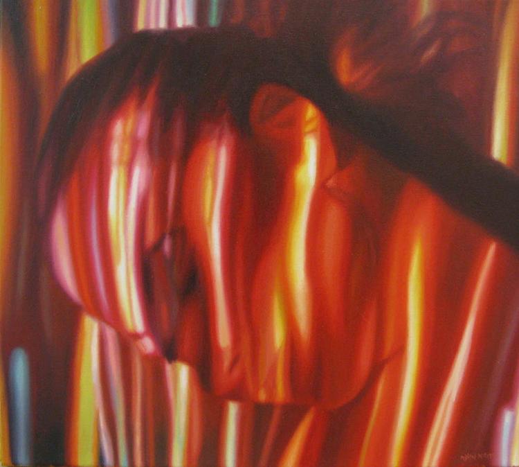 'Insularity', 2016, ett konstverk av Rodion Petroff