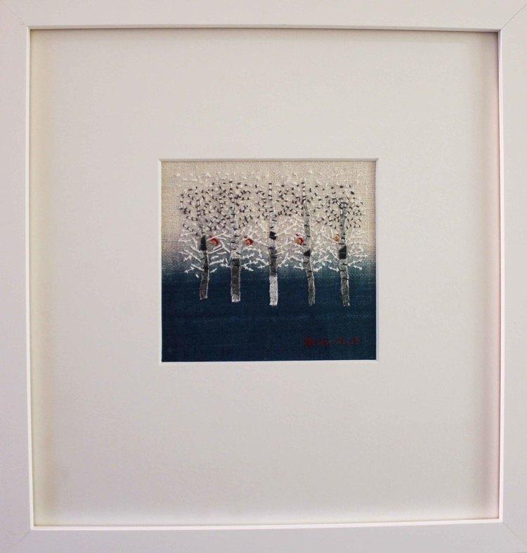 'Vi fyra', 2018, ett konstverk av Britta Marakatt-Labba