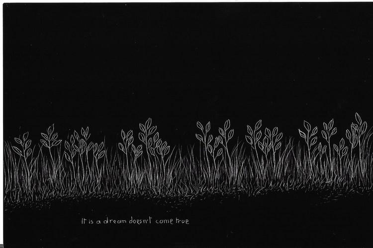 'Landscapes of Uncertain Times (Landskap i ovissa tider) 36/100', 2019, ett konstverk av Nisrine Boukhari