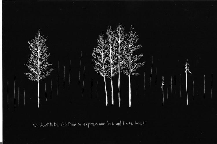 'Landscapes of Uncertain Times (Landskap i ovissa tider) 37/100', 2019, ett konstverk av Nisrine Boukhari