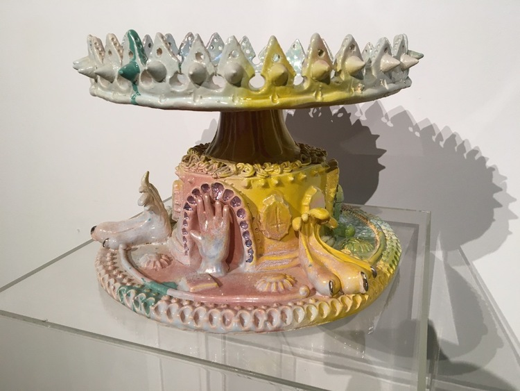 'Cirkus', 2013, ett konstverk av Haidar Mahdi
