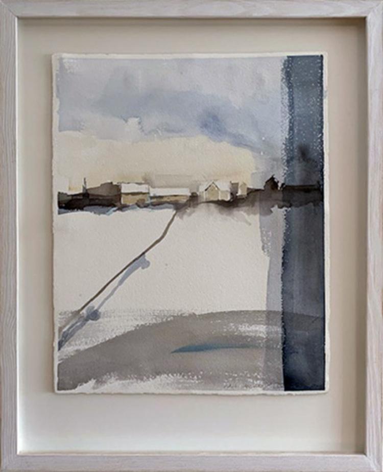 'Kall januari', 2019, ett konstverk av Ulla Blom