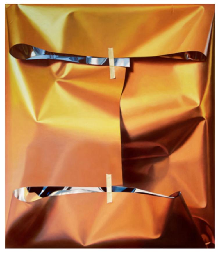 'AnImportantPropertyofOrange', 2019, ett konstverk av Yrjö Edelmann