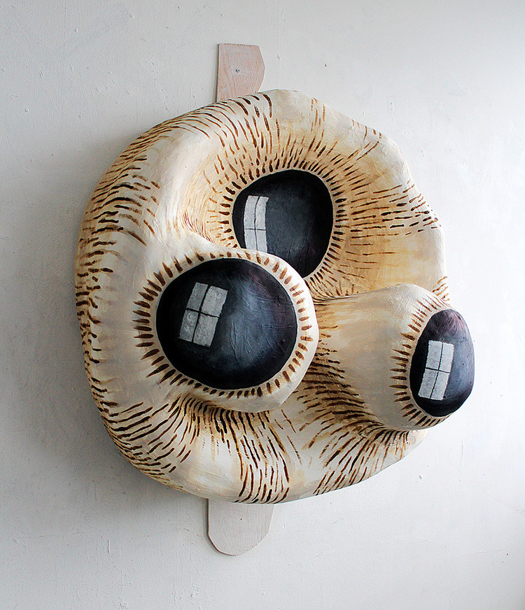 "'Detail from installation ""The Cabinet""', 2017, ett konstverk av Alexandra Skarp"