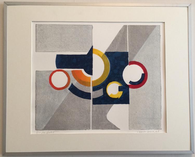 'Cirkulär rörelse', ett konstverk av Lars Hellström