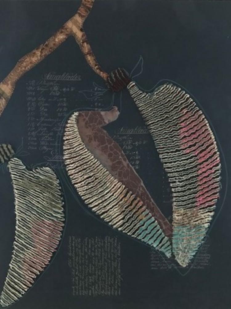 'Textiltavla 104x86 cm', 2020, ett konstverk av Louise Malmros