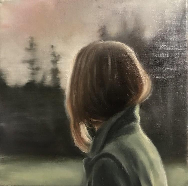 'Det var ljuset', 2019, ett konstverk av Ida Gudmundsson