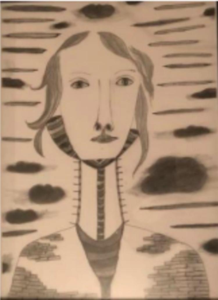 'Kolteknik', 2019, ett konstverk av Agneta Söderqvist