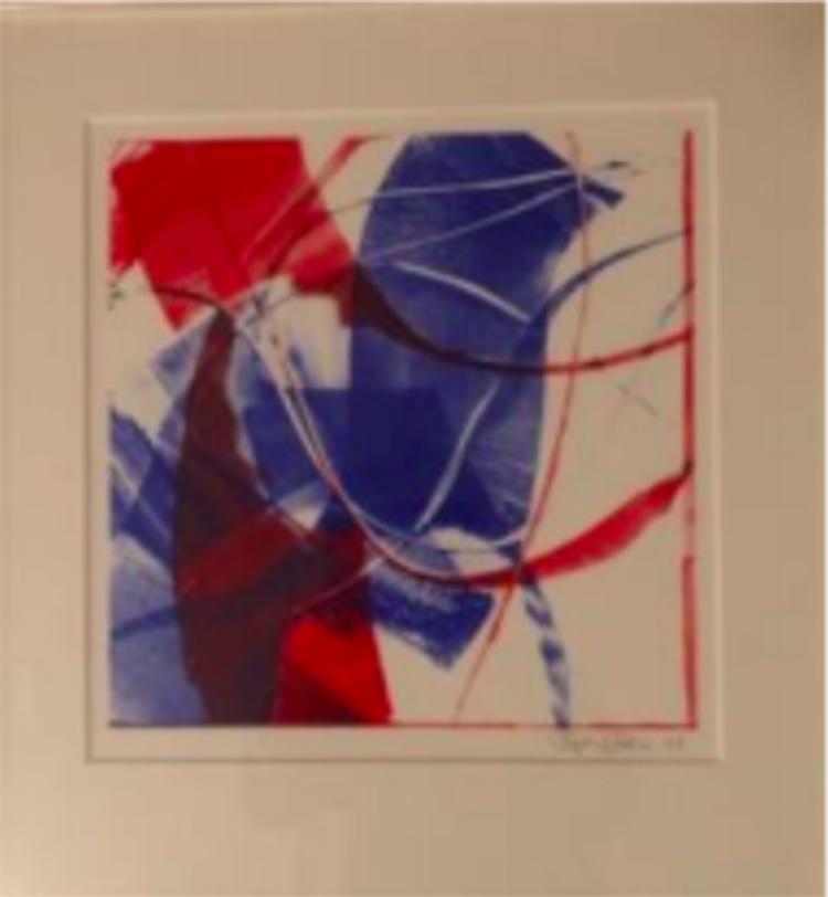 'Blandteknik ', 2019, ett konstverk av Björn Ståbi