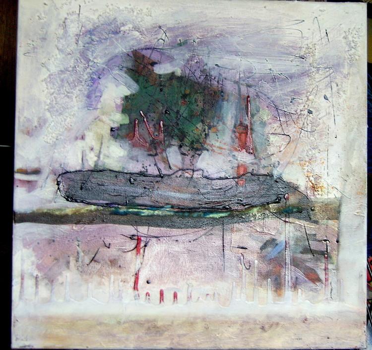 'Skeppet', 2019, ett konstverk av Yana Westberg