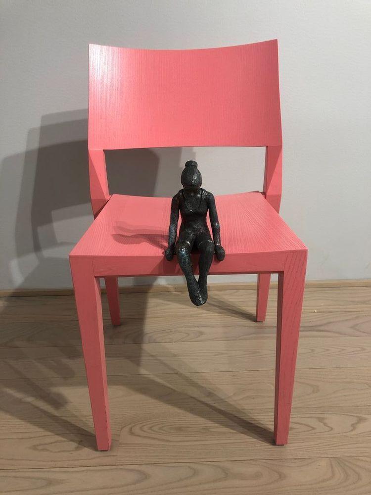 'Skulptur', 2020, ett konstverk av Eva Larsson