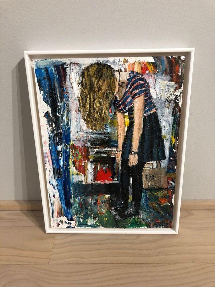 'Utan titel', 2020, ett konstverk av Anna Rabe