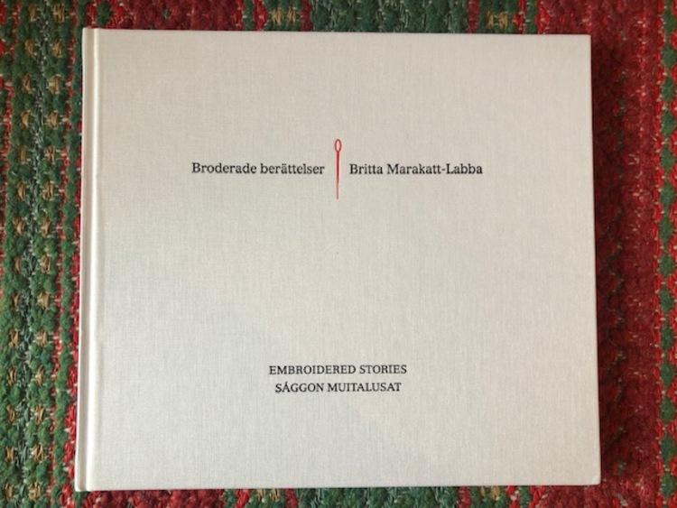 'Konstbok - Vinnare Liv Granbom', 2019, ett konstverk av Britta Marakatt Labba