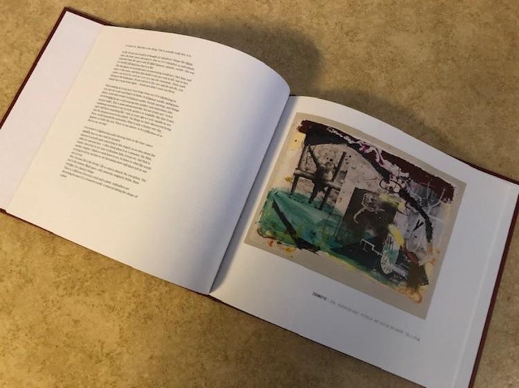 'Konstbok - Vinnare Alexandra Sterner', 2019, ett konstverk av Emil Holmner