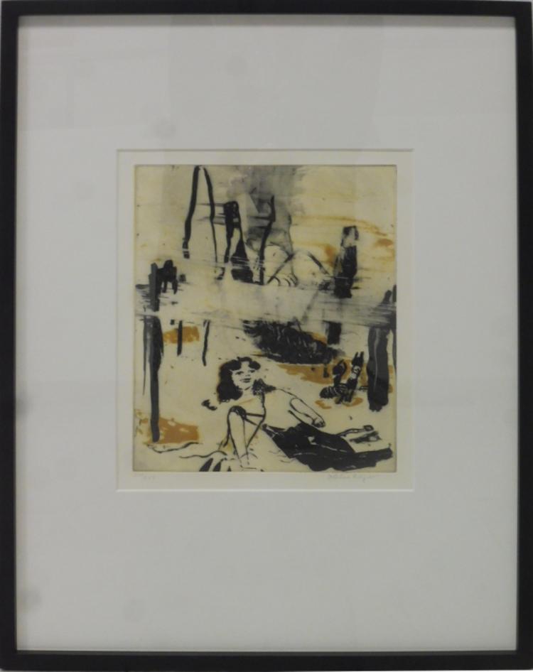 '2. Gula faran', 2020, ett konstverk av Helene Billgren