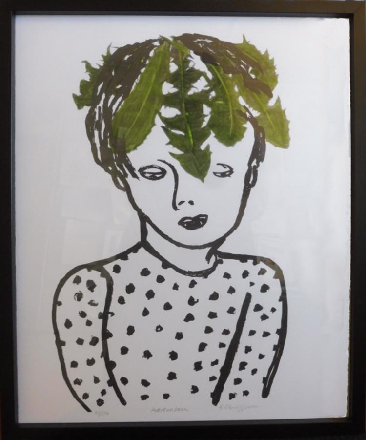 '5. Maskrosbarn', 2020, ett konstverk av Barbro Christoffersson