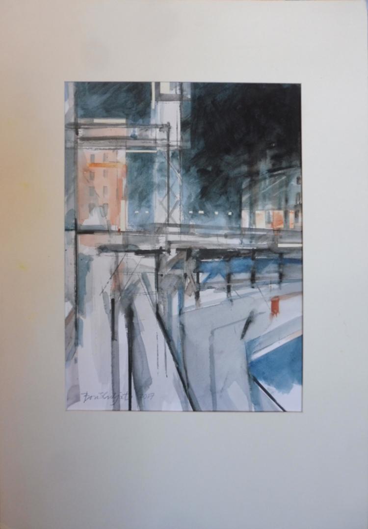 '6. Slussen', 2020, ett konstverk av Boris Culjat