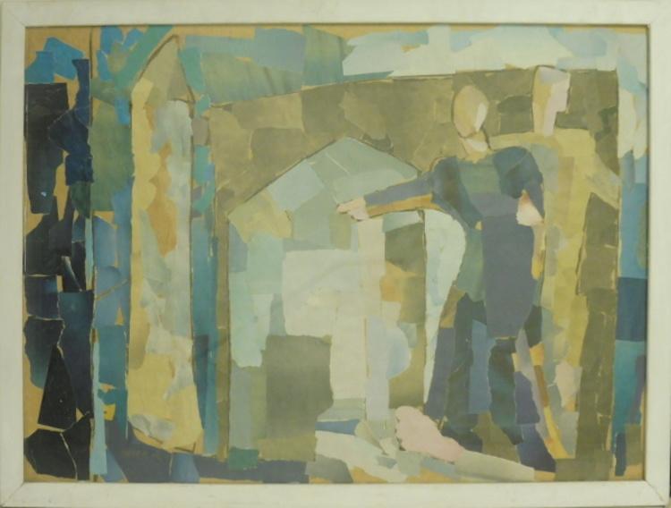 '12. På Ormsö ängar', 2020, ett konstverk av Inger Hahn-Redin