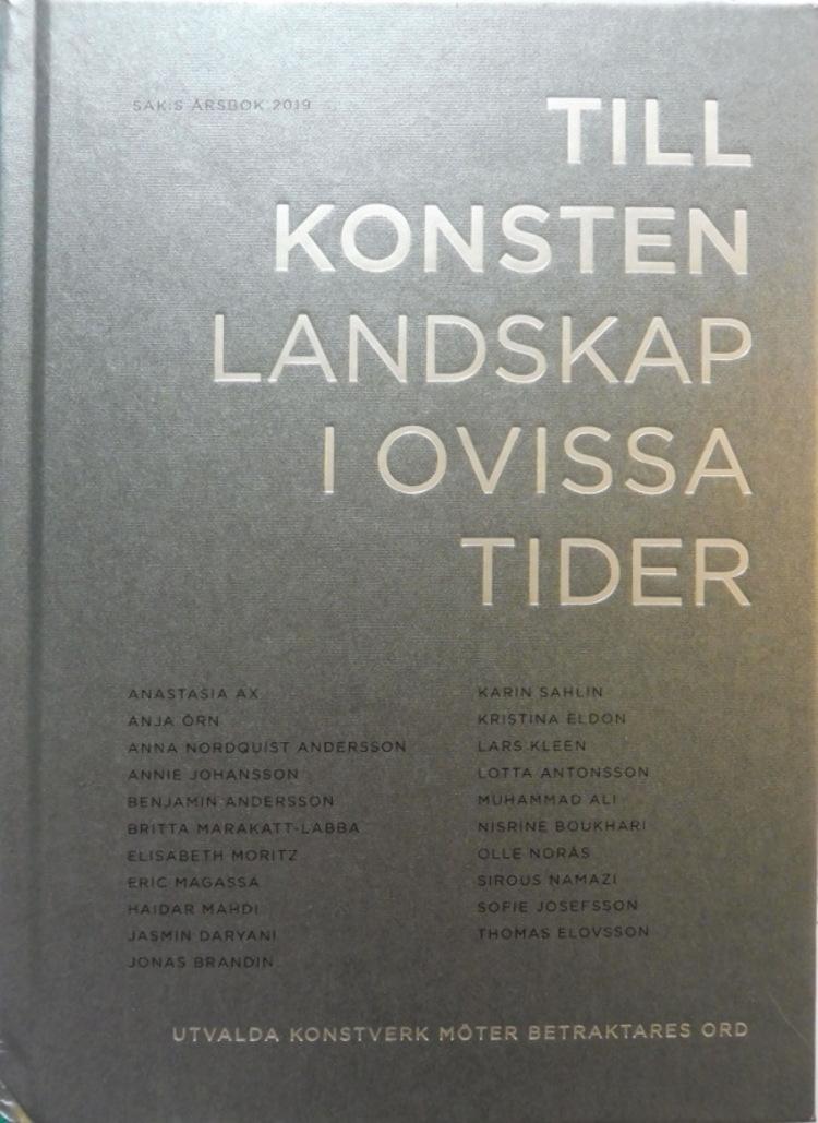 '30. Till konsten - Landskap i ovissa tider', 2020, ett konstverk av Magnus Ringborg