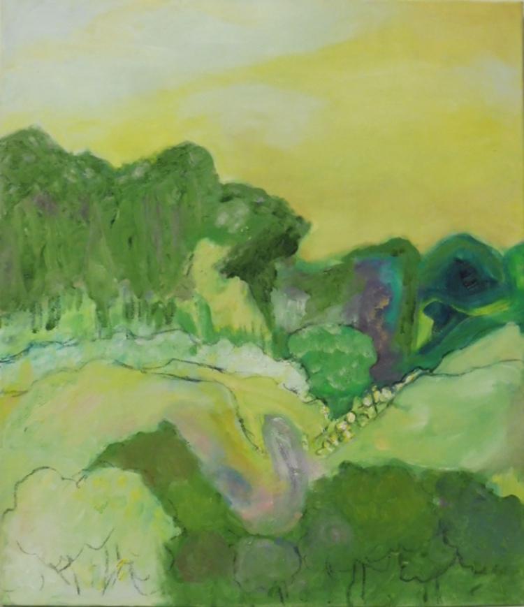 '31. Landskap', 2020, ett konstverk av Sybille Seyd Ylvenius