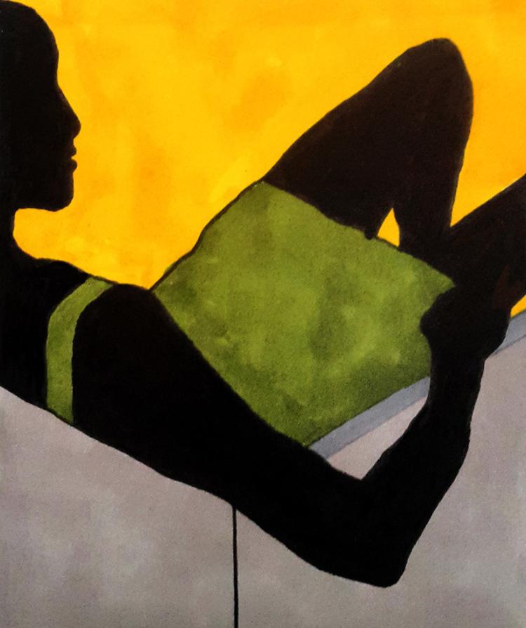 '36. Paus', 2020, ett konstverk av Thomas Wahlström