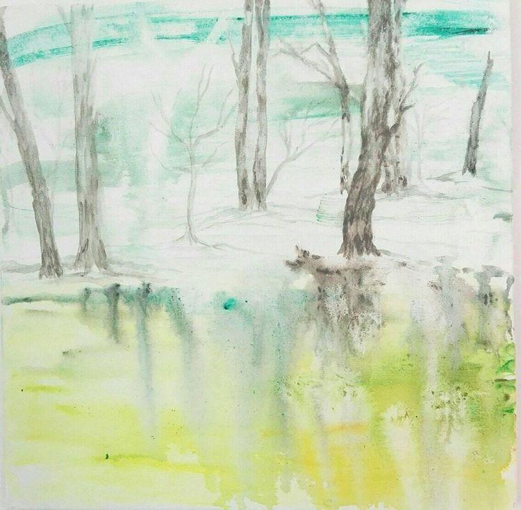 'Januari', 2020, ett konstverk av Lotta Hellström