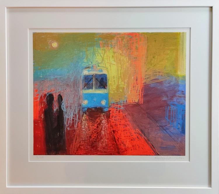 '1. Spårvagn', 2020, ett konstverk av Kent Larsson