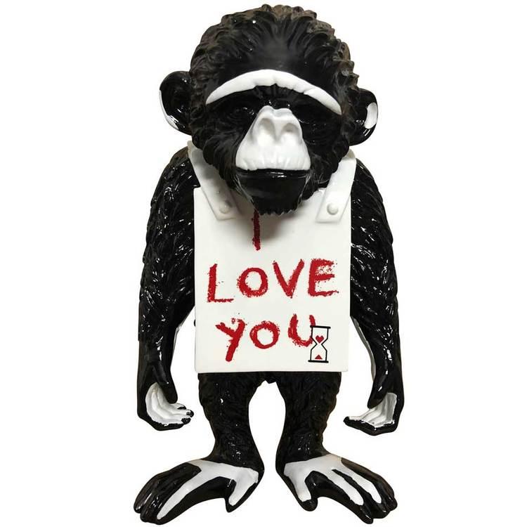 'Street Monkey', 2019, ett konstverk av Diederik van Apple