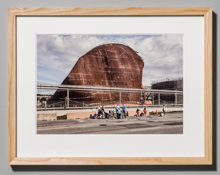 'Stadsutvecklingsområde 8067', 2018, ett konstverk av Erik Hagman