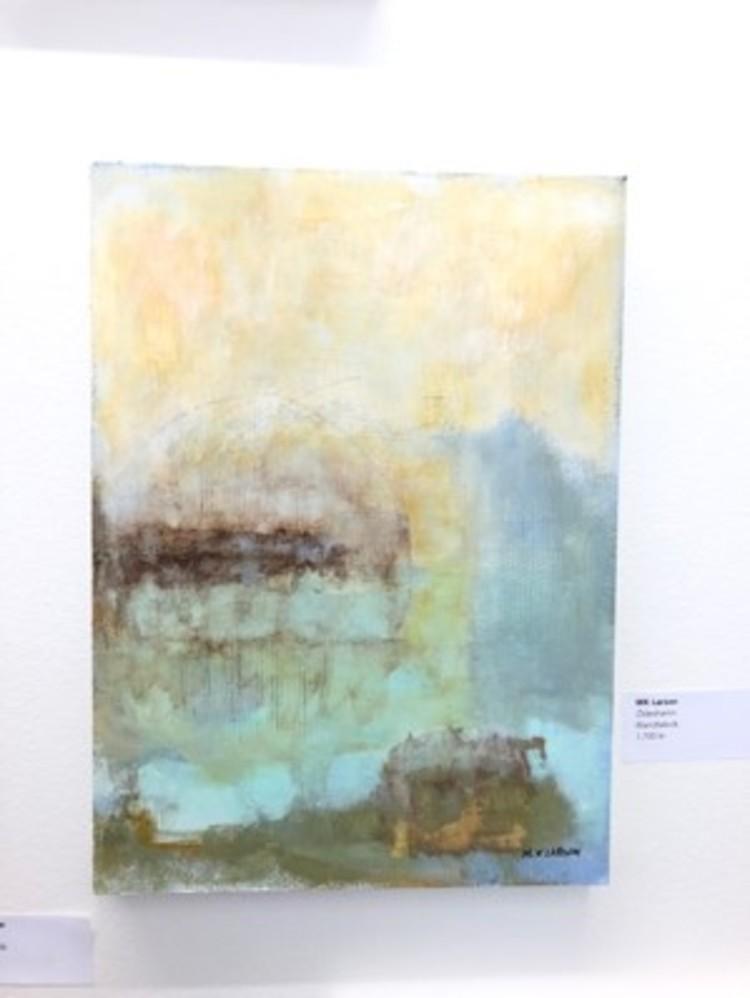'Ödeshamn', 2020, ett konstverk av MK Larsson