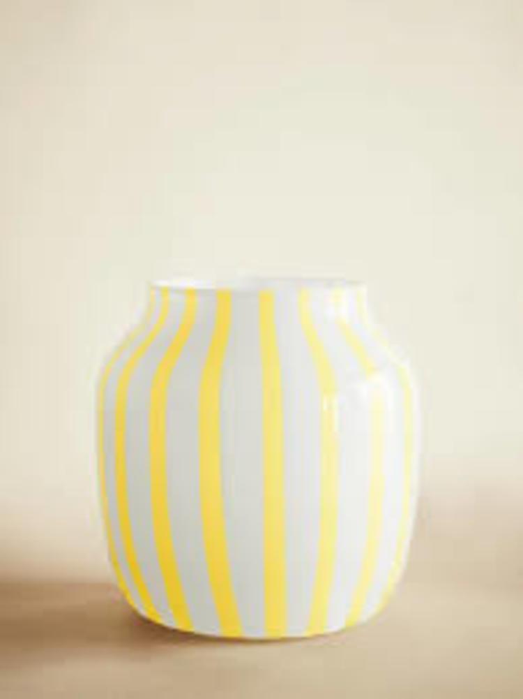 'HAY Yellow Juice Wide Vase', 2020, ett konstverk av HAY