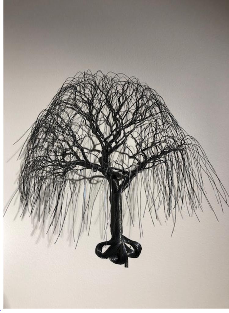 'Pilträd', 2020, ett konstverk av Matilda Bengtsson